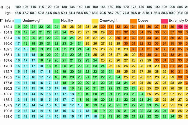 bmi chart for men Luxury Bmi For Females Chart Choice Image Free Any Chart Examples